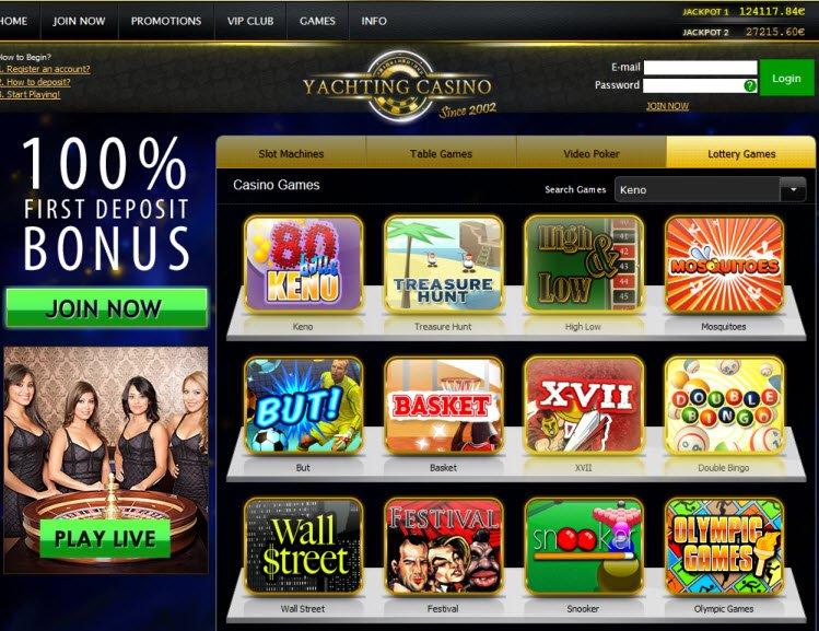 Yachting casino no deposit bonus code