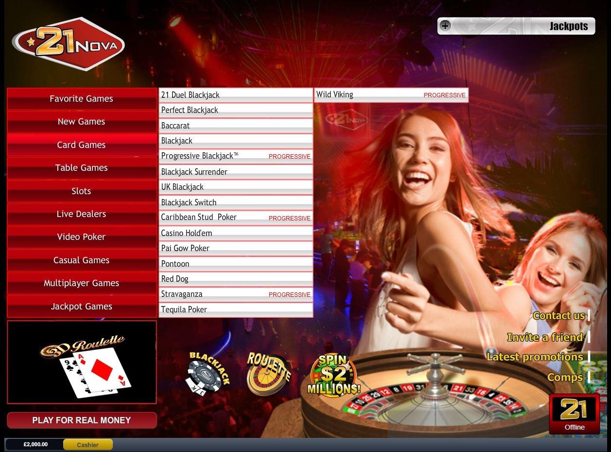 21nova Casino Review