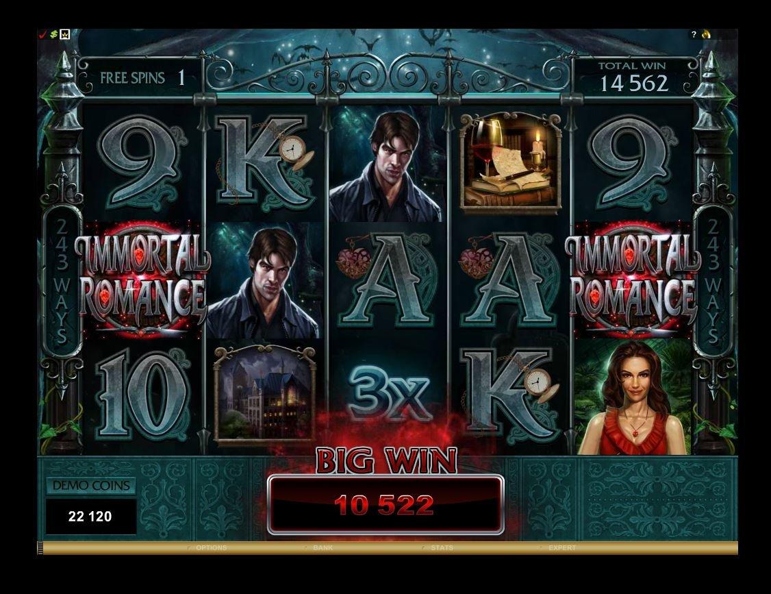 Immortal Romance Online Slot for Real Money - Rizk Casino