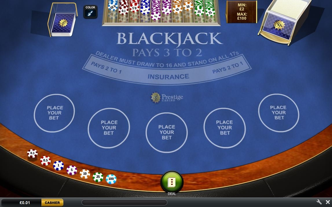 Play Prestige Casino Online