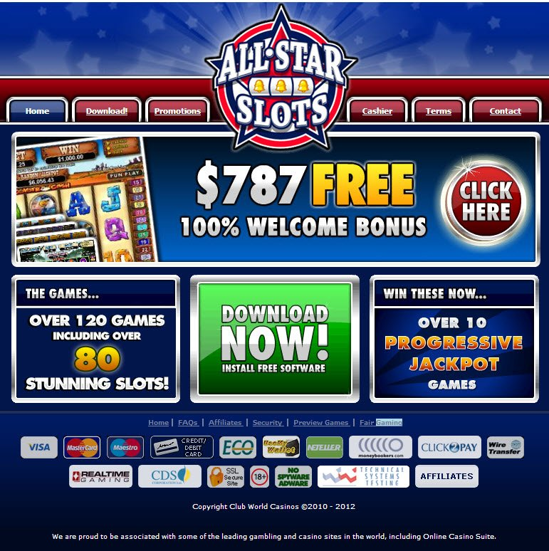 All Star Slots No Deposit Bonus 2021