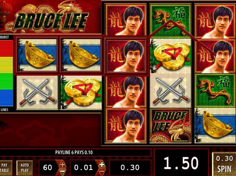 bruce slot machine