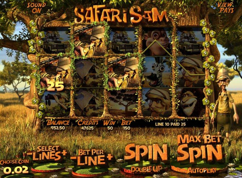 Review Safari Sam Slot Game