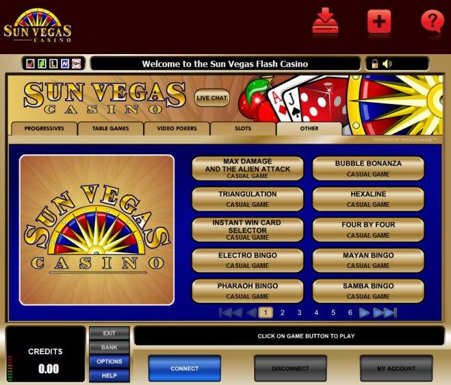 sun vegas casino download