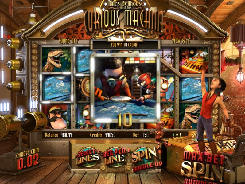 The Curious Machine™ Slot Machine Game to Play Free in BetSofts Online Casinos
