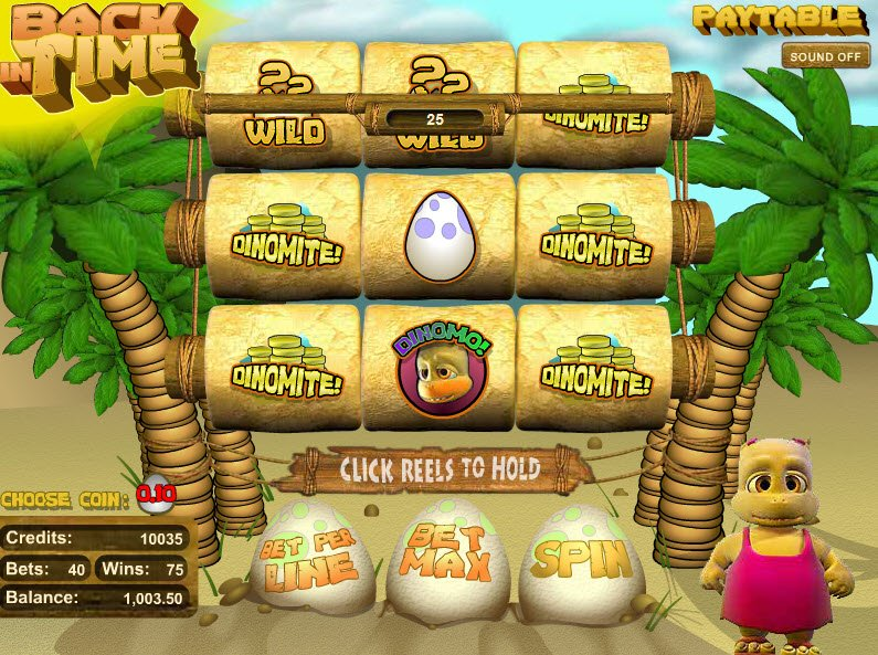 Back in Time™ Slot Machine Game to Play Free in BetSofts Online Casinos