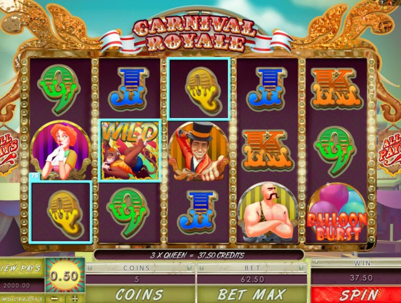 Circus of Fortune Slot Machine - Play for Free or Real Money