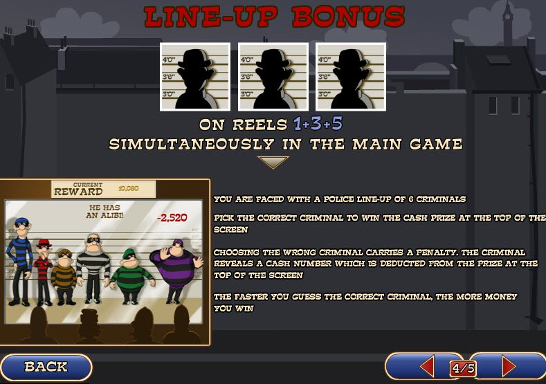 Play Cops N' Bandits Online Pokies at Casino.com Australia