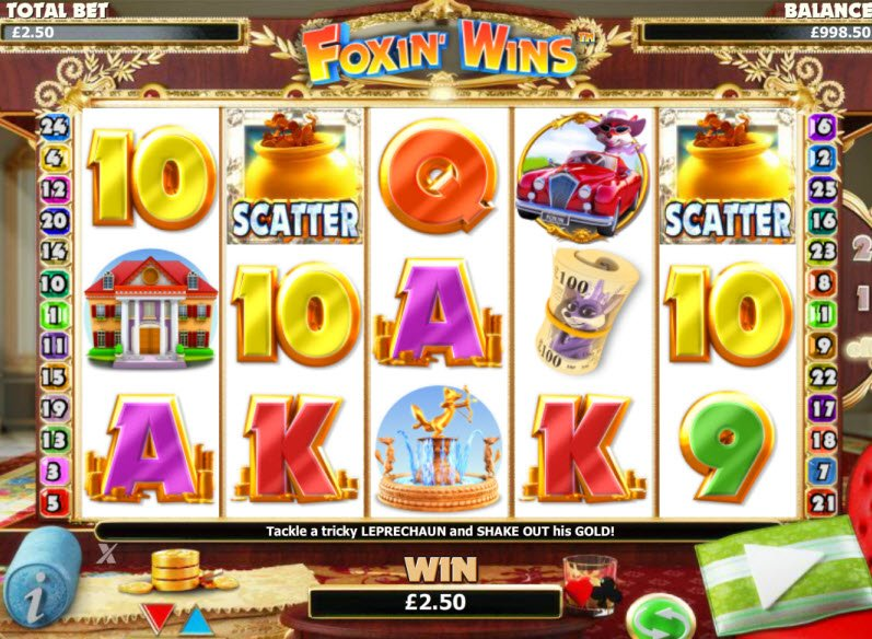 Foxin' Wins Slot Machine