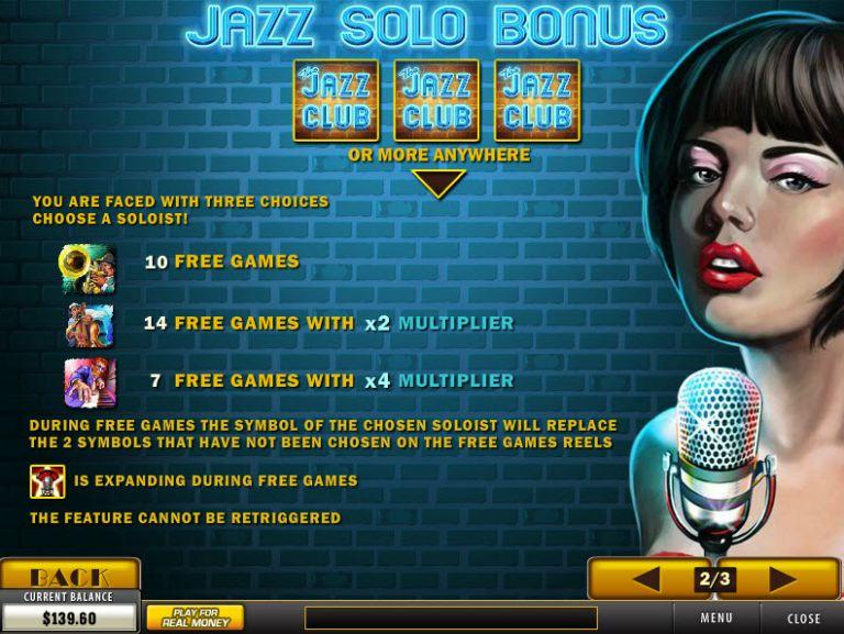 Jazz Nights Slot Machine