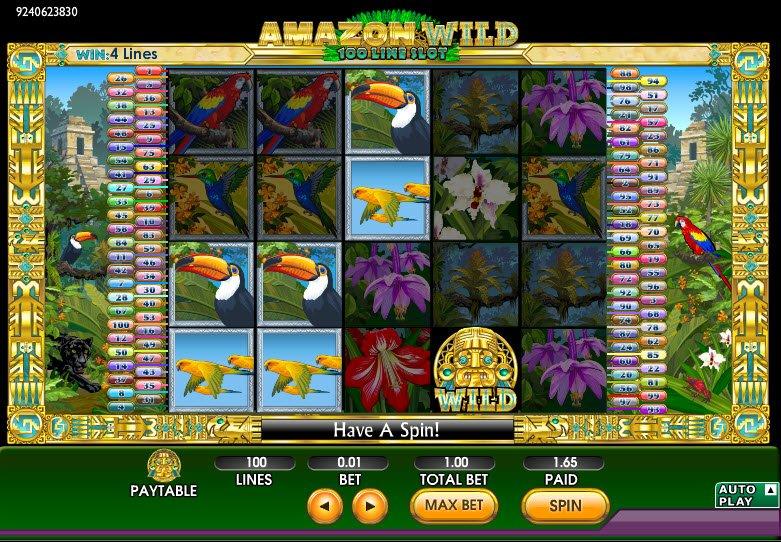 Amazon Wild Slot Review