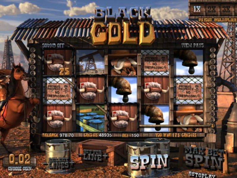 Автомат Black Gold