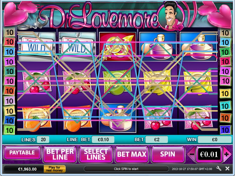 Dr. Lovemore Slots Review & Free Instant Play Casino Game