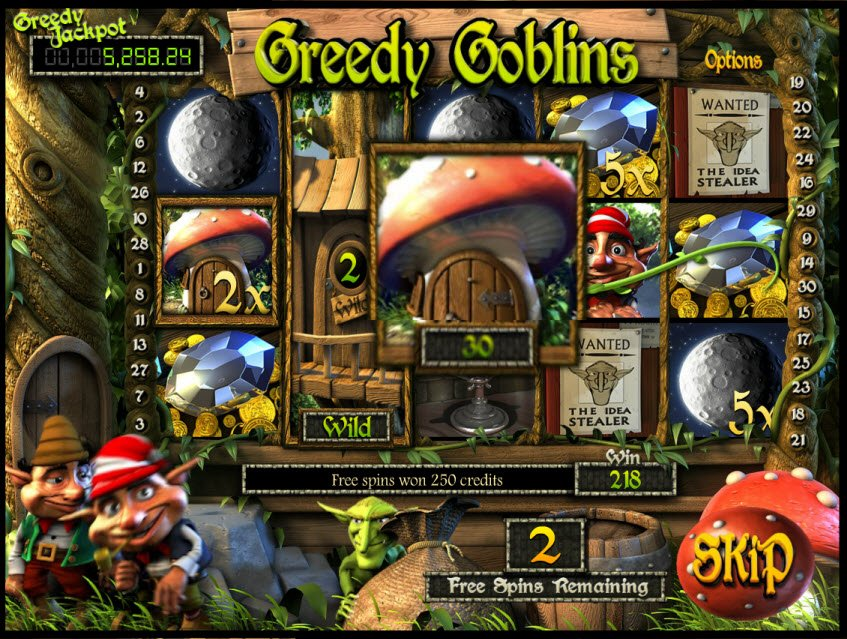 Greedy Goblins™ Slot Machine Game to Play Free in BetSofts Online Casinos
