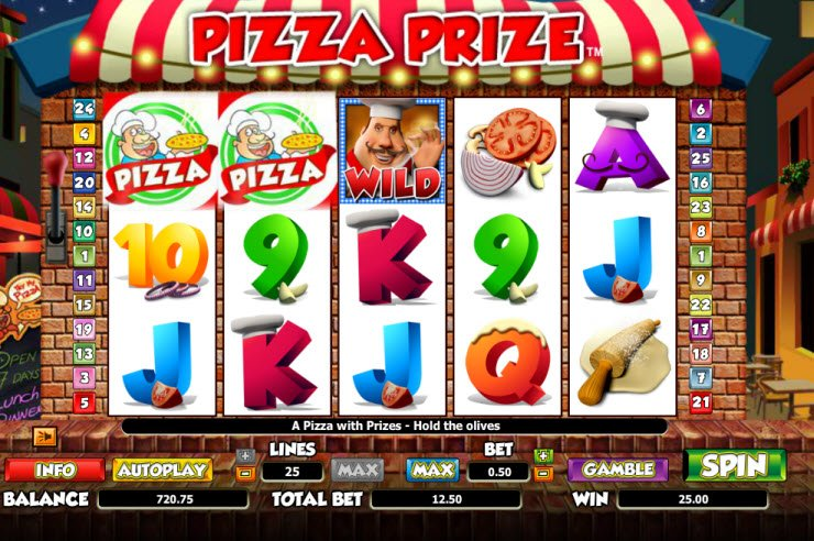 Pizza Prize™ Slot Machine Game to Play Free in NextGen Gamings Online Casinos