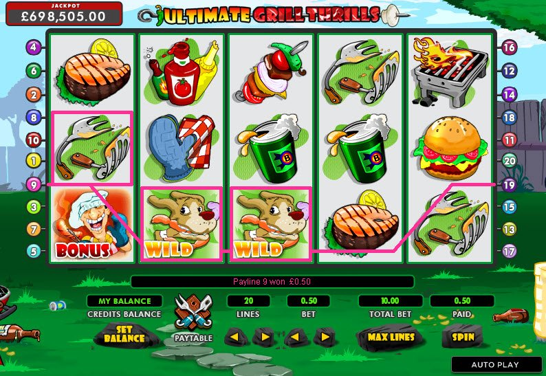 Ultimate Grill Thrills Slot Machine