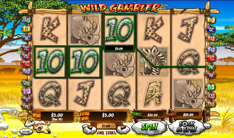 Wild Gambler™ Slot Machine Game to Play Free in AshGamings Online Casinos