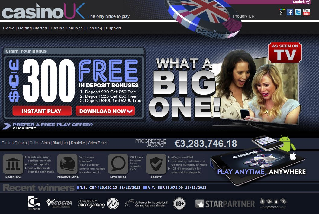 Play Uk Casino