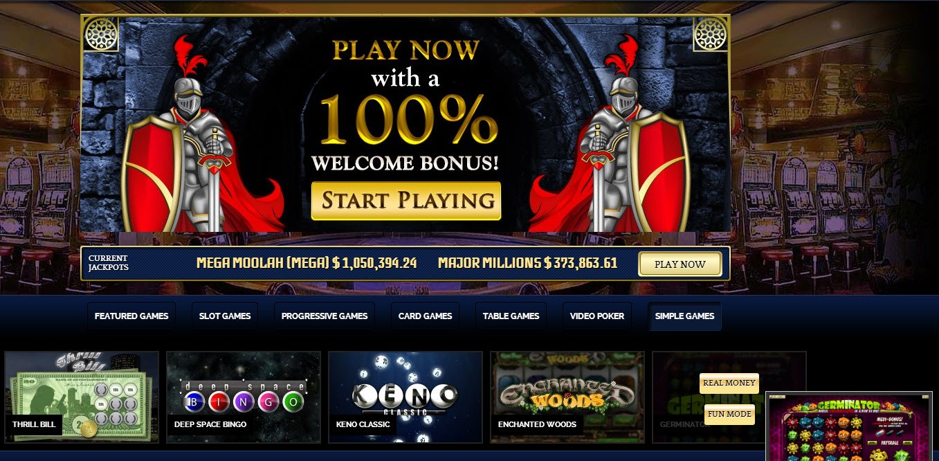 20 Free Spins at Jackpot Knights Casino - Posted On