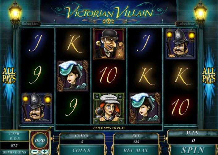 Venture To Play Victorian Villain Slot