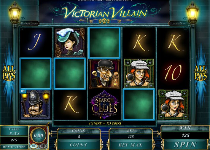 Victorian Villain Slot Machine - Try Playing Online for Free