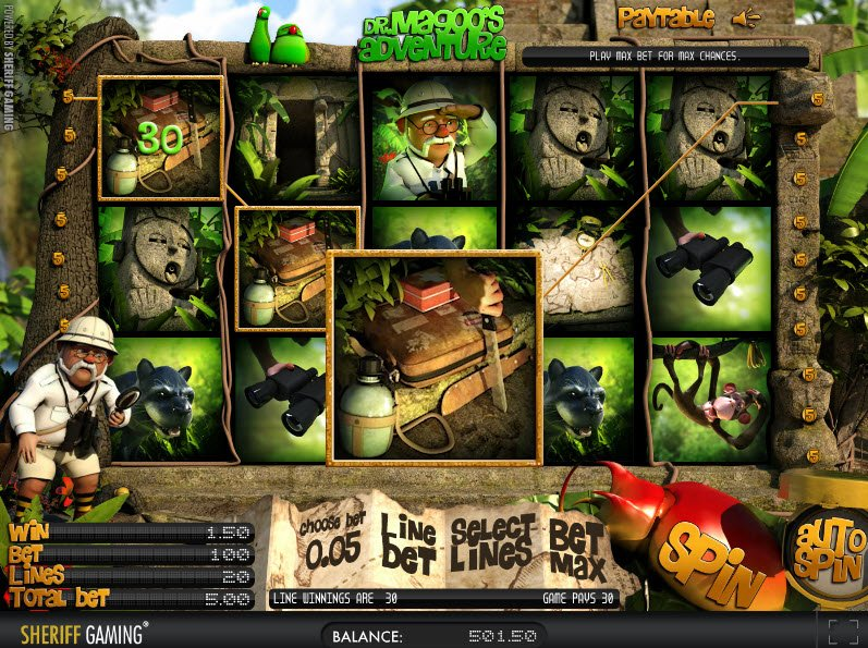 Dr. Magoos Adventure Slot Machine - Play for Free Now