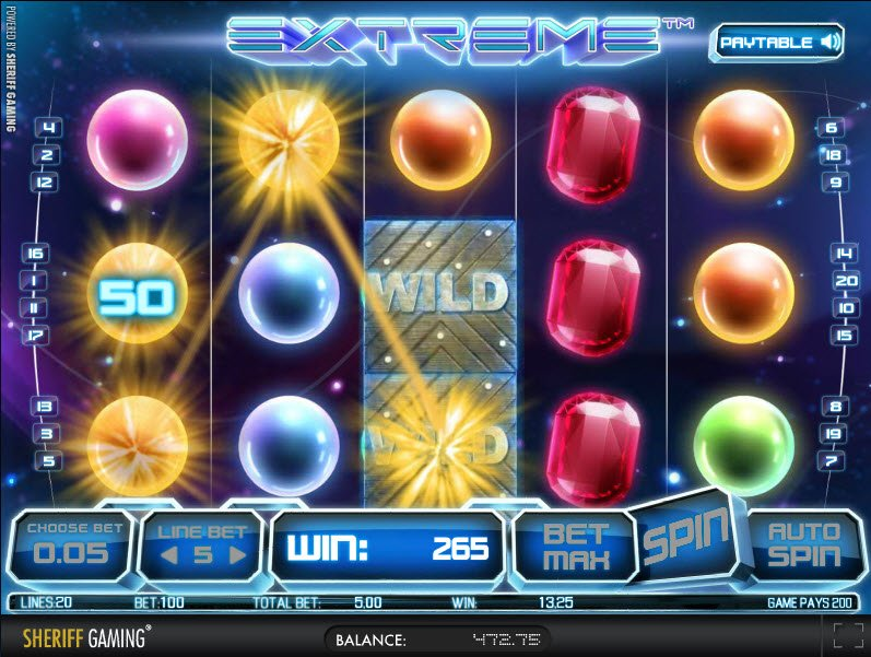 Extreme™ Slot Machine Game to Play Free in Greentubes Online Casinos