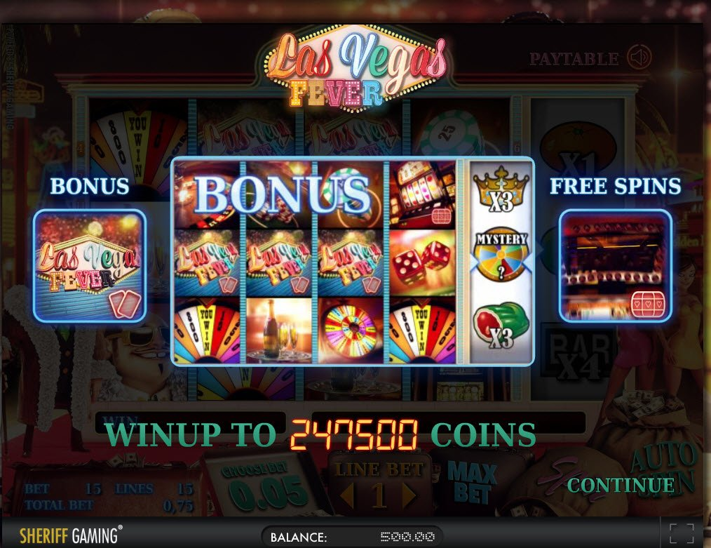 Las Vegas Fever Slot - Play the Online Version for Free