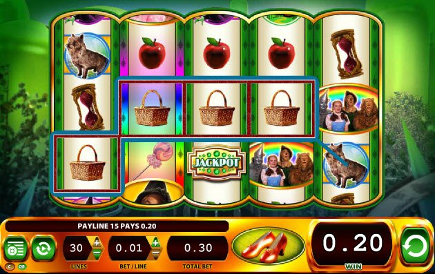 Play Ruby Slippers Online Free