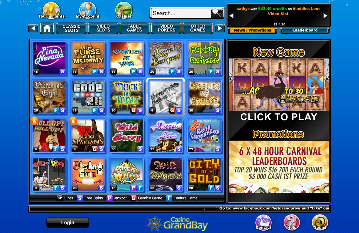 free online casino games bally