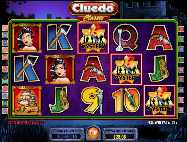 Cluedo Classic™ Slot Machine Game to Play Free in IGTs Online Casinos