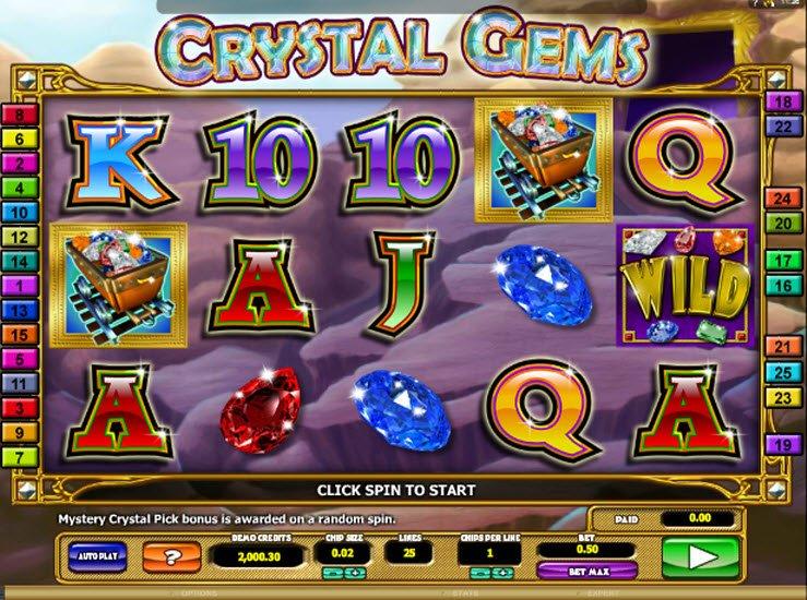 play gems gems gems slot game