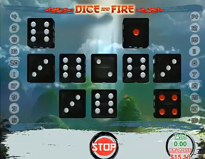 Dice and Fire Slot - Play this Game for Free Online