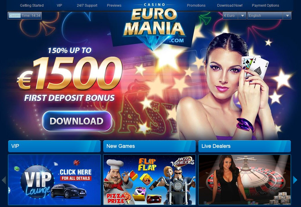 euromania casino no deposit 2019