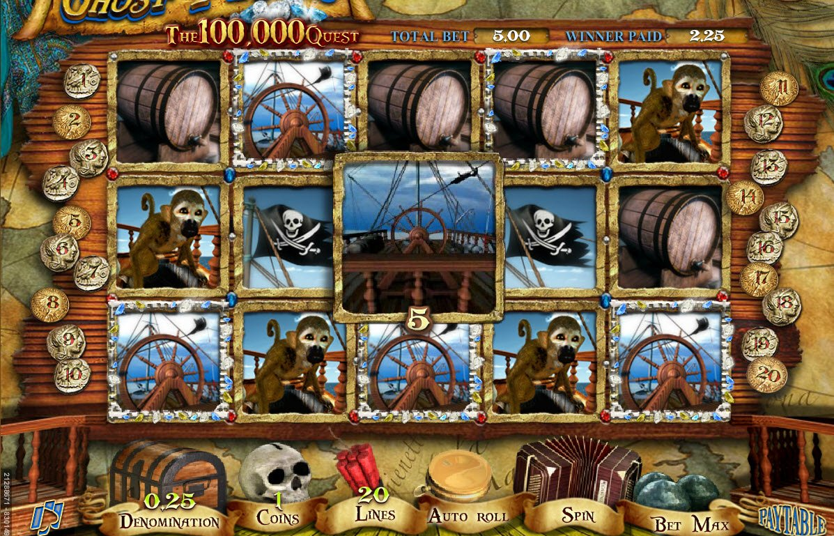 Ghost Pirates™ Slot Machine Game to Play Free in NetEnts Online Casinos