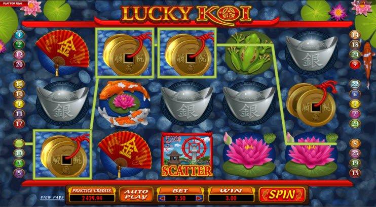 Lucky Koi Slot Machine