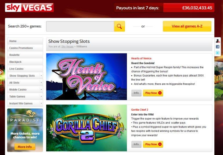 Online Casino Ratings