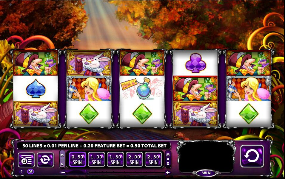 Alice And The Mad Tea Party Slot Machine