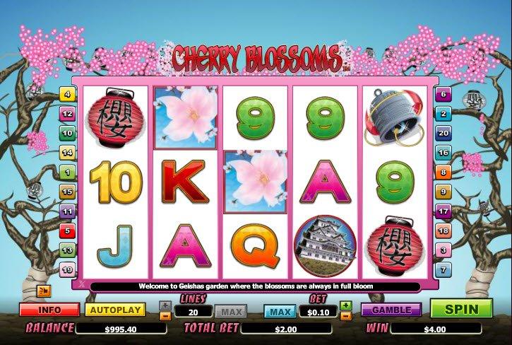 Cherry blossoms nextgen gaming casino slots lucky machine rules