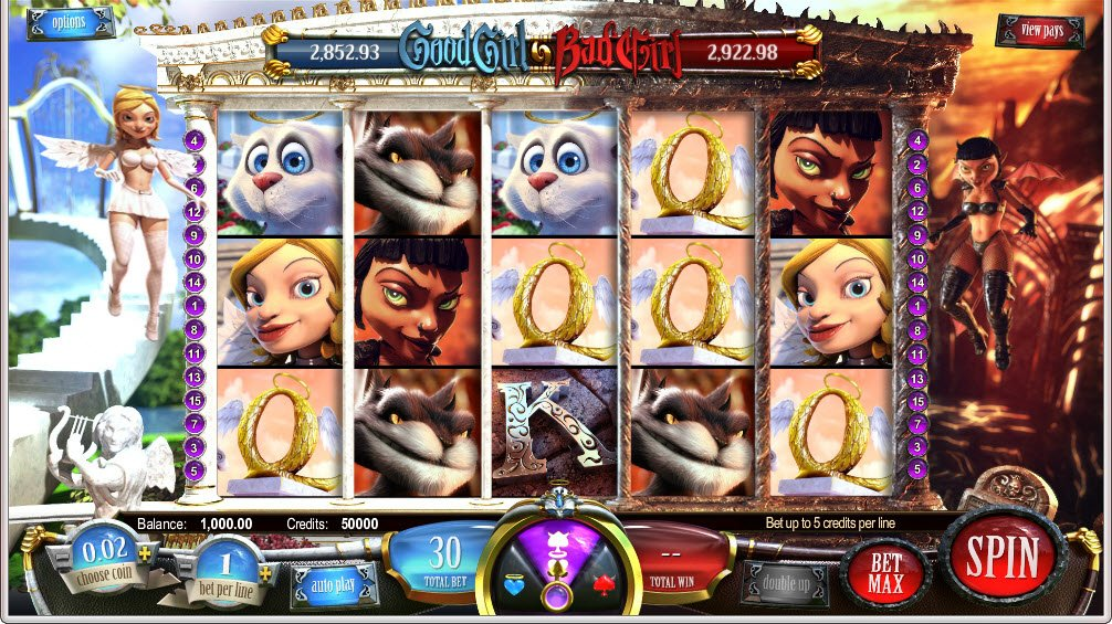 Good Girl Bad Girl™ Slot Machine Game to Play Free in BetSofts Online Casinos