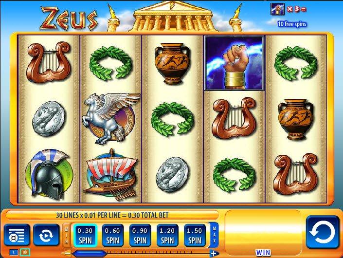 Online Slot Zeus