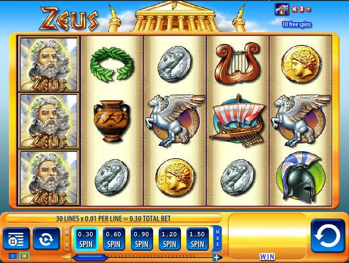Play Zeus Slots