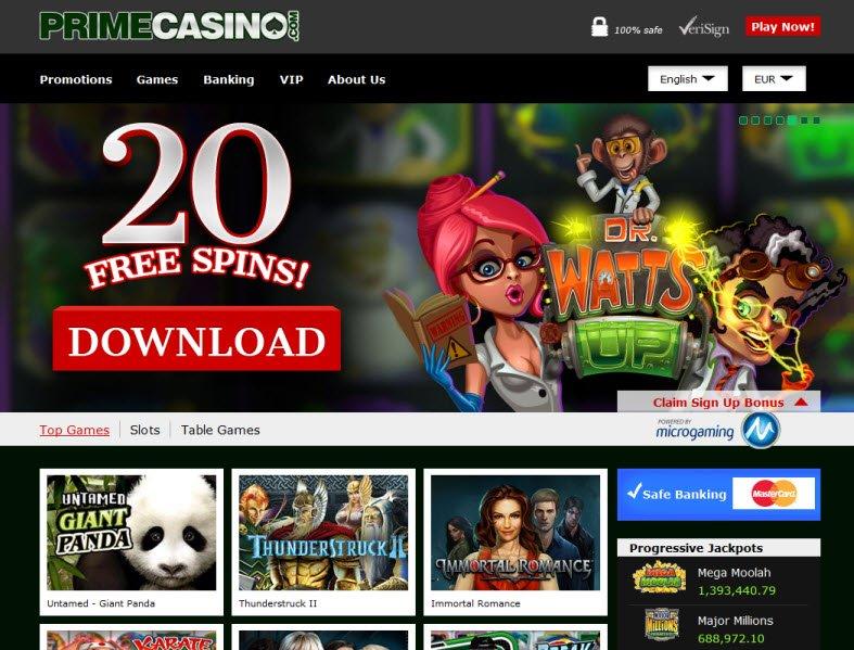 casino prime