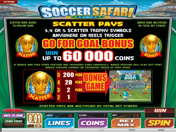 Soccer Safari Slots - Try the Online Game for Free Now