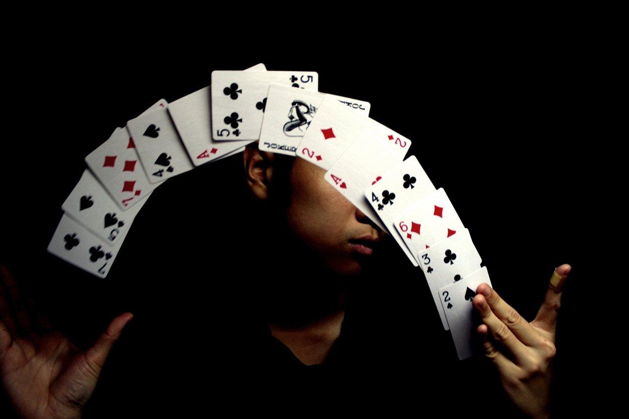 Magic poker cards trick blackjack internet game