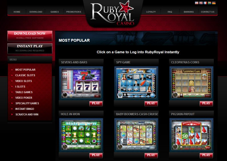 Fast Ruby Instant Win Game Review & Free Instant Play Game