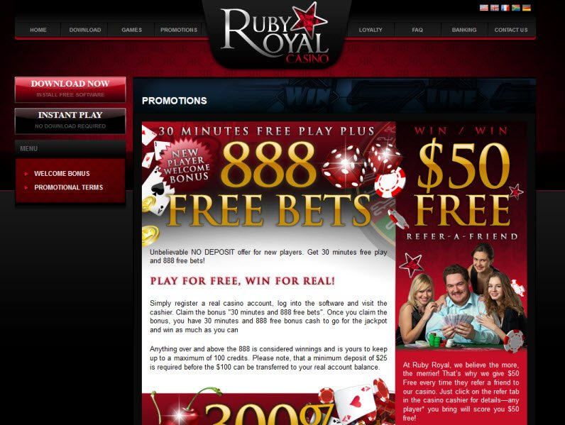 ruby casino instant play