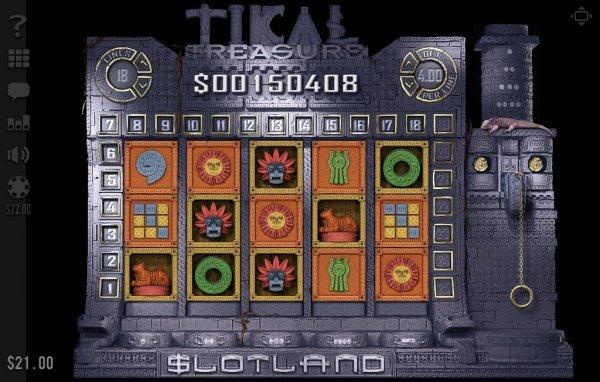 Tikal Treasure Slots - Free Online Slotland Slot Machine Game