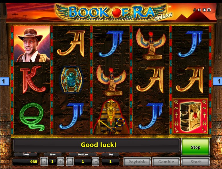 best online casino slot games book of ra