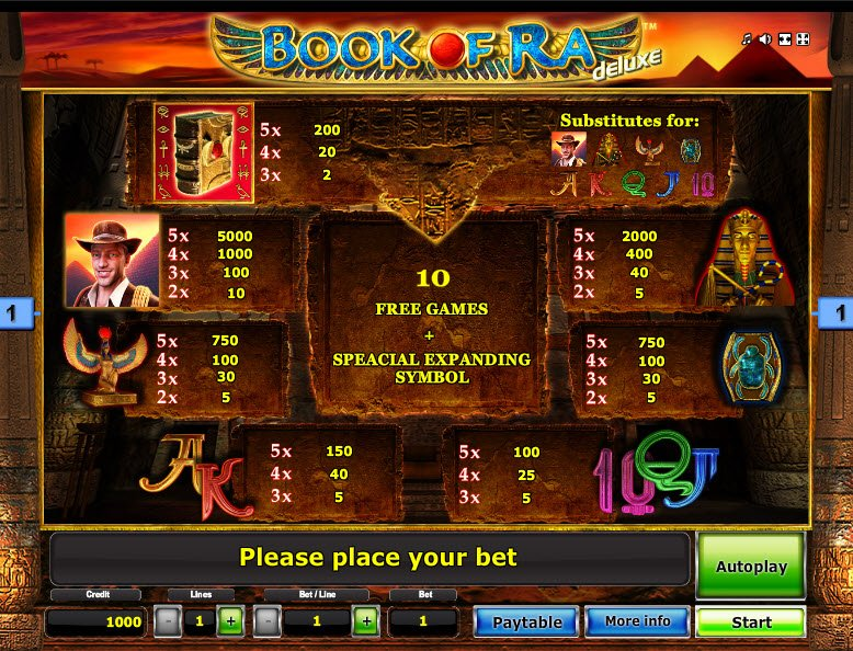 casino game online book of ra deluxe demo